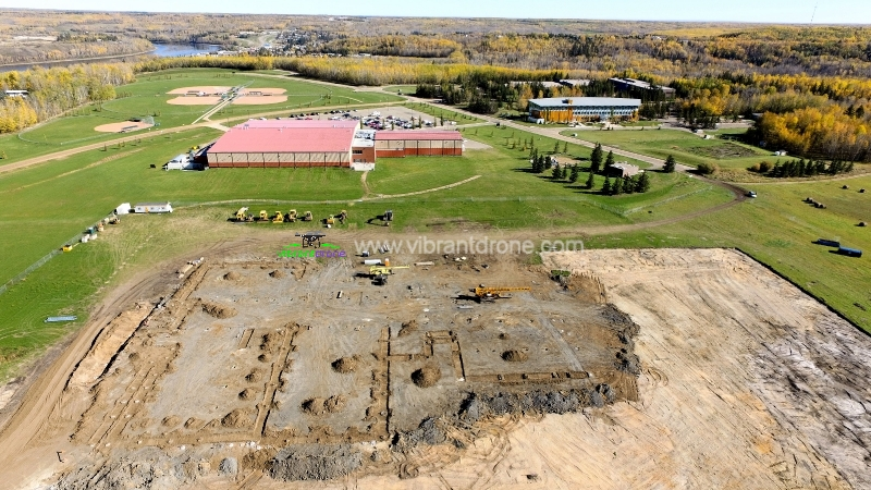 Athabasca - School Construction 2016